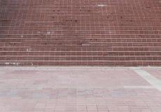 Rocznika dachówkowy schodek Zdjęcia Stock