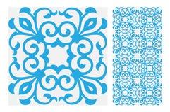 Rocznika dachówkowy wektor Zdjęcia Royalty Free