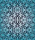 Rocznika dekoracyjny symmetric bezszwowy wzór Zdjęcia Stock