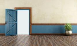Rocznika domowy wejście Obraz Stock