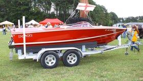 Rocznika Donzi łódź Zdjęcie Royalty Free