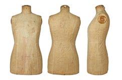 Rocznika dressmaking Mannequin Fotografia Stock