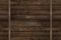 Rocznika drewna ściana Fotografia Stock