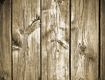 Rocznika drewna deski tło Fotografia Stock