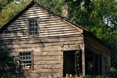 Rocznika drewna dom fotografia stock