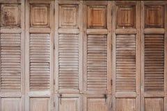 Rocznika drewna drzwi Zdjęcia Royalty Free