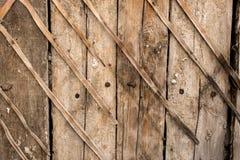 Rocznika drewna naturalna ściana textured tapeta Zdjęcia Royalty Free