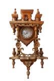 Rocznika drewna zegar obrazy royalty free