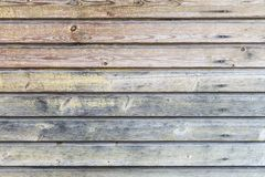 Rocznika drewniany ścienny tło obrazy royalty free