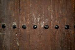 Rocznika drewniany brown tło Tło dla teksta, sztandar, etykietka Obraz Royalty Free