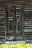 Rocznika drewniany drzwi Zdjęcia Stock