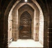 Rocznika drewniany drzwi Zdjęcie Royalty Free