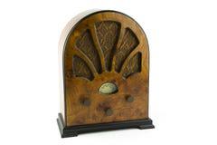 Rocznika drewniany radio Obrazy Stock