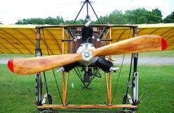 Rocznika Drewniany samolot zdjęcie royalty free