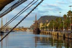 Rocznika drewniany statek Fotografia Stock