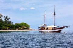 Rocznika drewniany statek Zdjęcia Stock