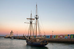 Rocznika drewniany statek Obrazy Royalty Free