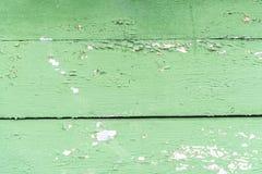 Rocznika drewniany tło z obieranie farbą Zdjęcia Stock