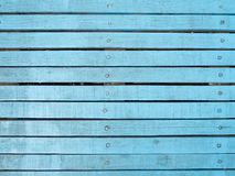 Rocznika drewno tło tekstura z kępkami i gwóźdź dziurami Obrazy Royalty Free