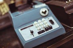 Rocznika drukowy kalkulator Obraz Royalty Free