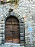 Rocznika drzwi, antyczni szczegóły, historia i czas, zdjęcia stock