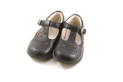 Rocznika dziecka buty Zdjęcia Royalty Free