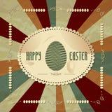 Rocznika Easter tło Obraz Stock