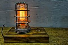Rocznika Edison żarówki Antykwarski element wyposażenia zdjęcia stock
