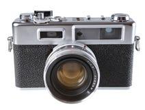 Rocznika ekranowa rangefinder kamera Fotografia Stock