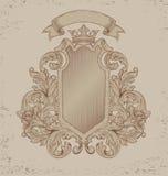 Rocznika emblemat Zdjęcie Royalty Free