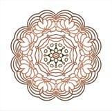 Rocznika etniczny okrąg royalty ilustracja