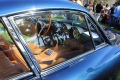 Rocznika Ferrari sportów samochodowego okno szczegół Fotografia Stock