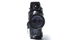 Rocznika filmu kamera Obrazy Stock