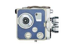 Rocznika filmu kamery przód zdjęcia stock
