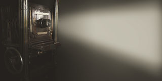 Rocznika filmu projektor Fotografia Royalty Free