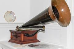 Rocznika fonograf Obraz Stock