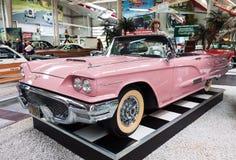 Rocznika Ford Thunderbird kabriolet Obrazy Royalty Free