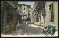 Rocznika Francja pocztówka Vichy Zdjęcie Royalty Free
