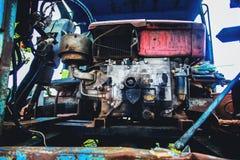 Rocznika gospodarstwa rolnego ciężarówka obrazy stock