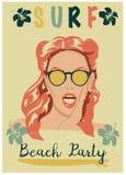 Rocznika graficznego projekta styl Obrazy Royalty Free