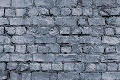 Rocznika grunge cementu szara ściana z cegieł, wielki projekt dla żadny zamierza Szarości kamienny tło Stary szary grunge kamieni fotografia royalty free