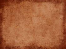 Rocznika grunge ciemny brown papier z granicą Fotografia Stock