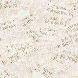 Rocznika grunge kolażu tekstury gazetowy tło zdjęcie stock