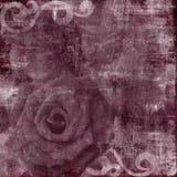 Rocznika Grunge Scrapbook tło Zdjęcia Royalty Free