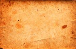 Rocznika grunge stara papierowa tekstura jako tło Obrazy Royalty Free