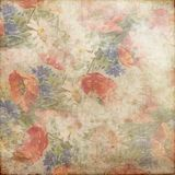 Rocznika Grunge tła Błękitnej zieleni menchii Czerwony biel 142 Zdjęcie Royalty Free