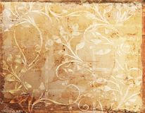 Rocznika grunge tło i tekstura Fotografia Stock