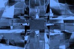 Rocznika halftone błękitny tło Obrazy Stock