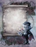 Rocznika Halloween tło royalty ilustracja