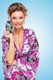 Rocznika homemaker Obraz Royalty Free